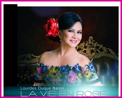"""La Vie En Rose HARLEM SHAKE"" single cd by Lourdes Duque Baron"